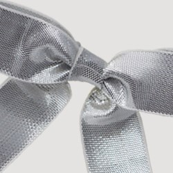 Metallic Twist Tie Bow