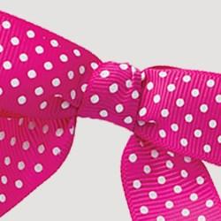 Polka Dot Twist-tie Bow
